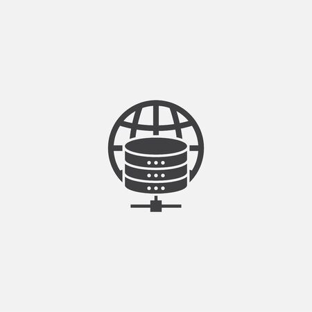 web hosting base icon. Simple sign illustration. web hosting symbol design. Can be used for web and mobile