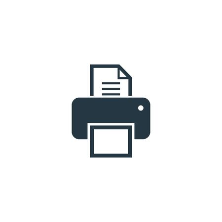 Printer icon. Simple element illustration. Printer symbol design template. Can be used for web and mobile UI.