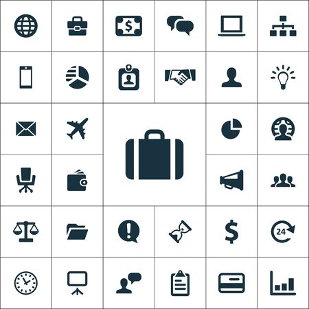 Business icons universal set for web and mobile.