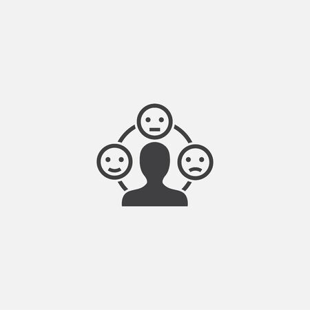 emotion base icon. Simple sign illustration. emotion symbol design. Can be used for web, print and mobile