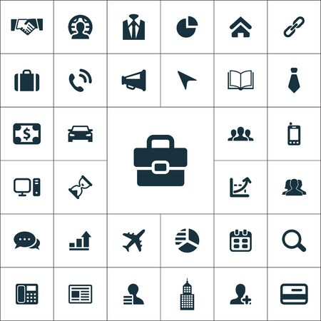 corporate icons universal set for web and UI