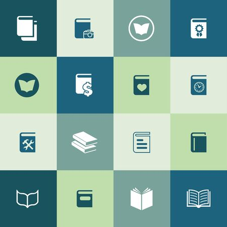 books icons universal set for web and UI Stock fotó - 133742492