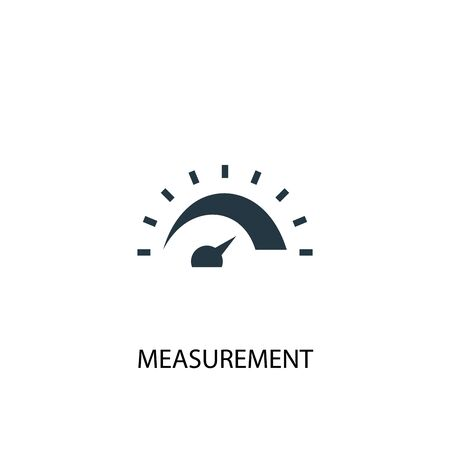 measurement icon. Simple element illustration. measurement concept symbol design. Can be used for web and mobile.