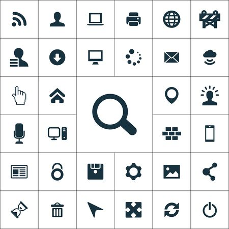 webdesign icons universal set for web and mobile.