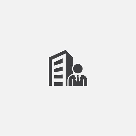 CEO base icon. Simple sign illustration. CEO symbol design. Can be used for web and mobile 向量圖像