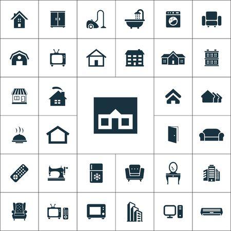 home icons universal set for web and UI 版權商用圖片 - 133748976