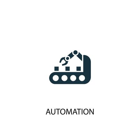 automation icon. Simple element illustration. automation concept symbol design. Can be used for web Illustration