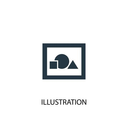 illustration icon. Simple element illustration. illustration concept symbol design. Can be used for web Ilustração