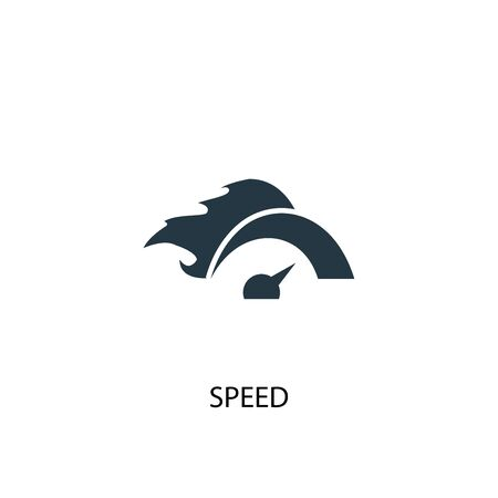 speed icon. Simple element illustration. speed concept symbol design. Can be used for web