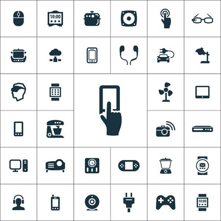 internet of things icons universal set for web and UI