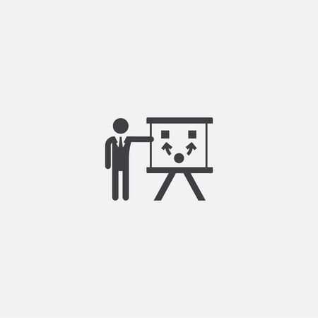 Project Planning base icon. Simple sign illustration. Project Planning symbol design. Can be used for web and mobile