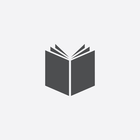 book icon, isolated, white background