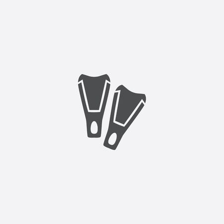 simple flippers icon