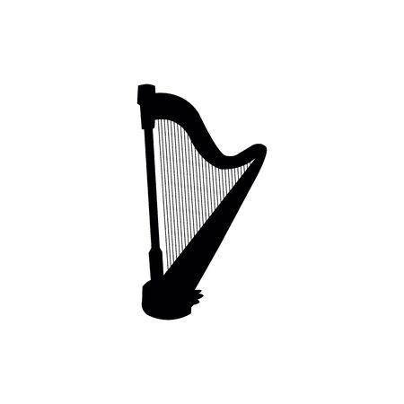 Musical instruments on white background.  イラスト・ベクター素材