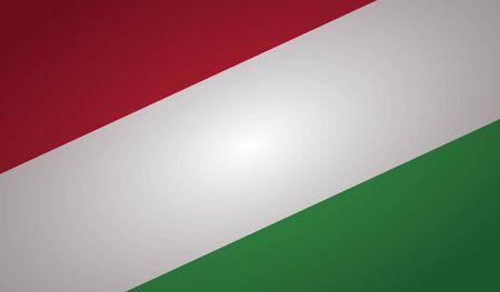 hungary flag angle shape.