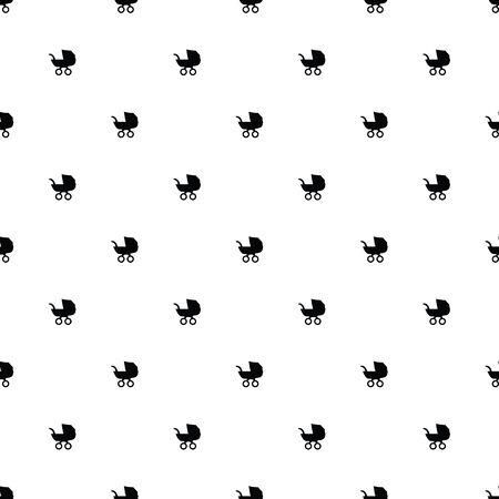 Vector seamless pattern, buggy 向量圖像