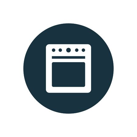 cooker icon on white background.