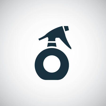 sprayer icon on white background.