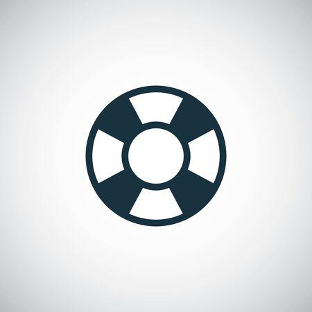 lifebuoy icon 向量圖像