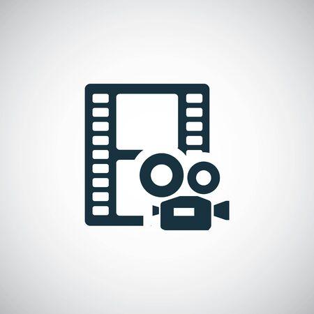 video film icon Vecteurs