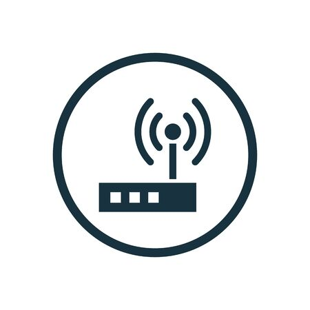 modem icon 向量圖像