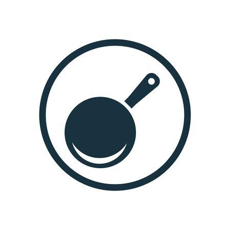 pan icon on white background.