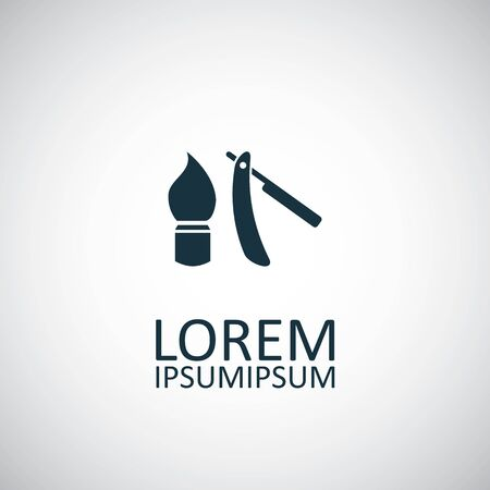 shaving icon Illusztráció