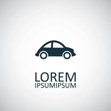 mini car icon.