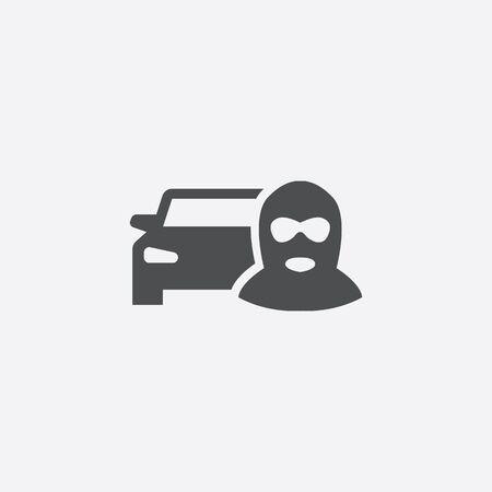 car thief icon 스톡 콘텐츠 - 141178373
