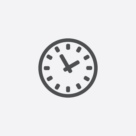 time icon 向量圖像