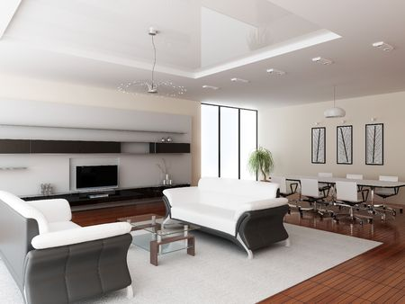 Modern interior of a room Stock Photo - 7690272