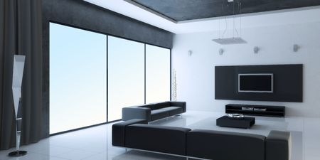 Modern inter of a room Stock Photo - 7690241