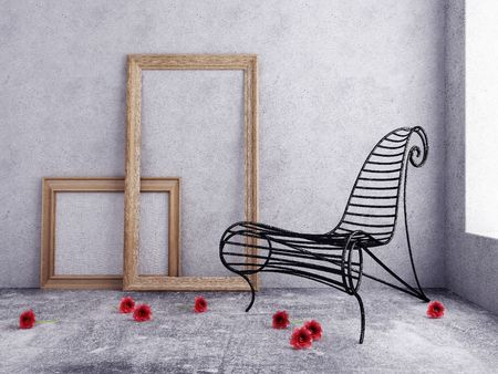 Interior with a chair Stock Photo - 7756860