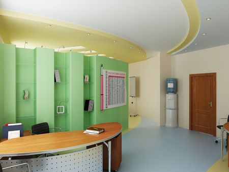 Modern interior of office Stock Photo - 7756812