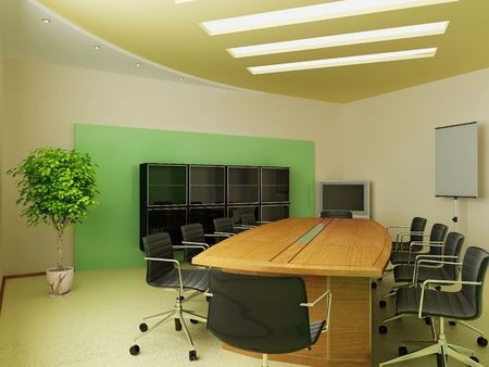 Modern interior of office Stock Photo - 7756832