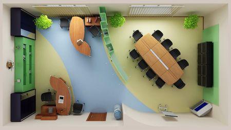 mobilier bureau: Int�rieur moderne de bureau