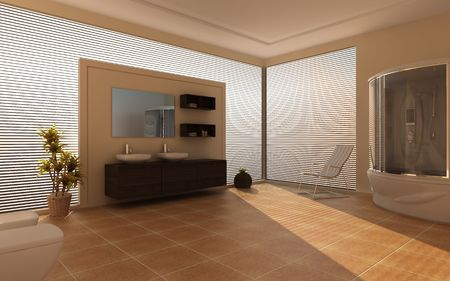 Modern interior of a bathroom Stock Photo - 7756846