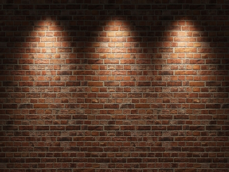 old brick wall: Brick wall