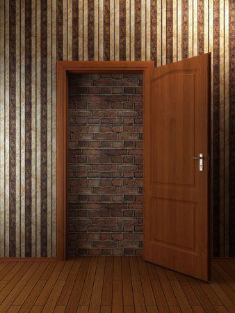 Doorway Stock Photo