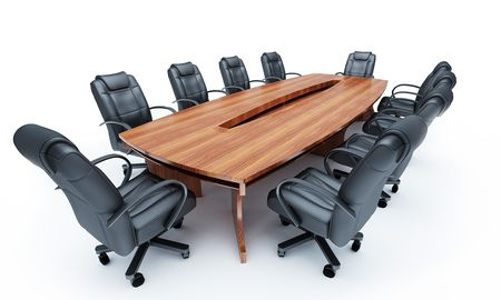 Furniture for a conference of halls Stock Photo - 7856407