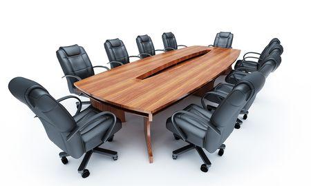 board of director: Mobili per una conferenza di sale  Archivio Fotografico