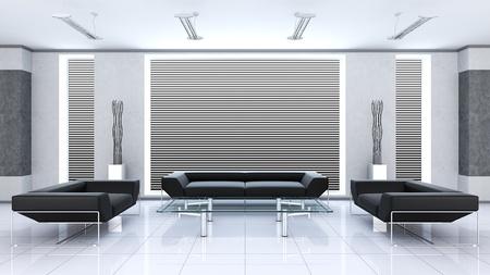 Modern interior Stock Photo - 8792455