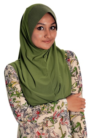 Young Muslim Lady Stock Photo