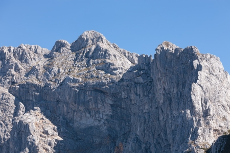 inaccessible: High and inaccessible mountain peaks