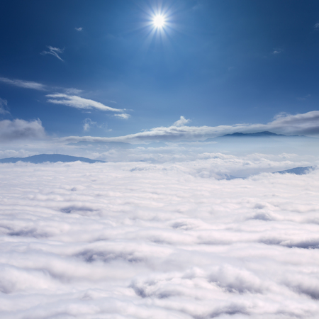 inversion: Example of meteorological phenomenon known as inversion temperature or pressure