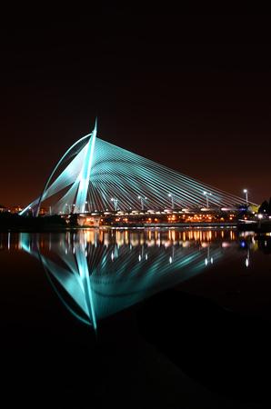 Putrajaya Bridge Shining at Nights