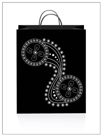 aboriginal art: Tote bag with aboriginal art