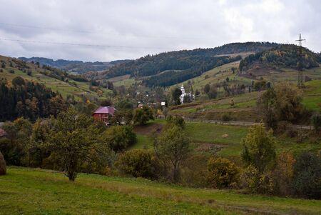 Views of Carpathian mountains