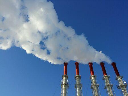 industrieel: Industriële luchtvervuiling