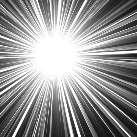abstract rays. explosion effect. vector graphic illustration
